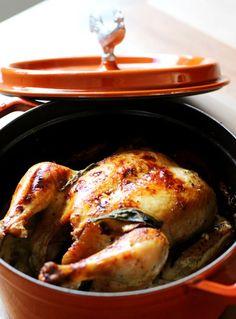 Kuře pečené v mléce 4