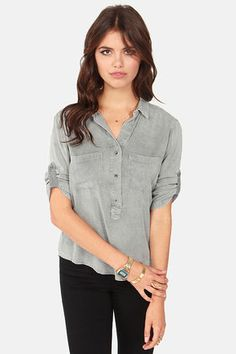No Place Like Home Washed Grey Top at LuLus.com! Get 7% cash back at LuLu's http://stackdealz.com/all/get-all-deals/LuLu-s-Coupon-Codes-and-Discounts--/0