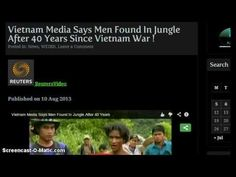 """http://pinterest.com/pin/7248049373370869/ 2 Men Found Alive in the Jungle, 40 Years After Vietnam War! - """"Dahboo77? Asswipe... E.T. says: (Another idiot comes out of the woodwork... Oh my lord... You found Rip Van Winkle? I guess he finally woke up! You're really grabbing at straws! But keep it up! AMEN FOR PAYPAL AND ONLINE DONATIONS lol lol lol)"""""""