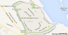 Map of Suriçi, Gazimağusa