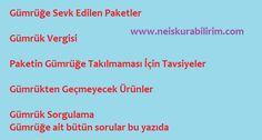 http://www.neiskurabilirim.com/gumruge-sevk-edildi-torbaya-eklendi/ gümrüğe takılma,gümrüğe sevk edildi,gümrük sorunları