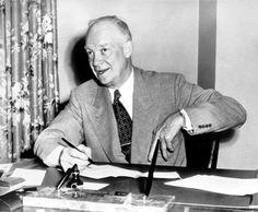 August 1952: Gen. Dwight D. Eisenhower while seeking the presidency. He was 61. (Associated Press)