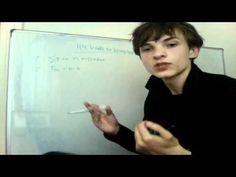Leerling Tom Koolen heeft een Youtube kanaal en legt natuurkundige onderwerpen uit. Natuurkunde: Hoofdstuk 4: Kracht en beweging: Theorie