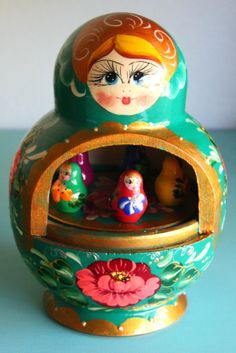 Russian Doll Music Box from Age of Reason.