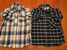 CARTER/'S BOYS RED BUFFALO CHECK BUTTON DOWN L//S FLANNEL COTTON SHIRT 2T 5T