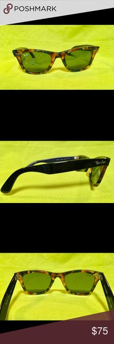 Ray Ban Wayfarer Sunglasses Beautiful tortoise color sunglasses. Never worn Ray-Ban Accessories Sunglasses