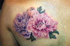 Realistic Peony Flower Tattoo Arte Fotos Ideias
