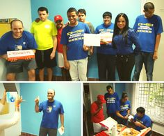 Dunkin' Donuts apoya la Campaña #AzulporelAutismo. Llevamos un dulce momento a nuestros amigos de la Fundación Soy Capaz#autismo #SoyCapaz