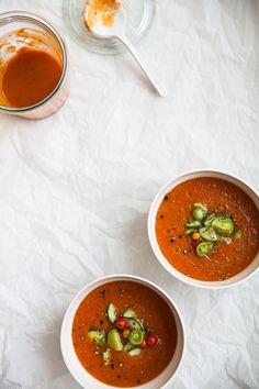 easy summer gazpacho /