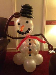 Snowman Balloon