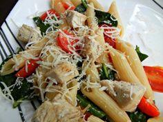 The Pioneer Woman's Chicken Florentine Pasta!