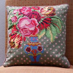 kaffe fassett needlepoint | Click here to view full larger image