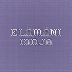 ELÄMÄNI KIRJA Company Logo, Tech Companies, Coding, Logos, Logo, Programming