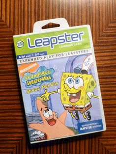 LeapFrog Leapster Game Spongebob Squarepants Saves the Day Leapster, Leapster2 - Games
