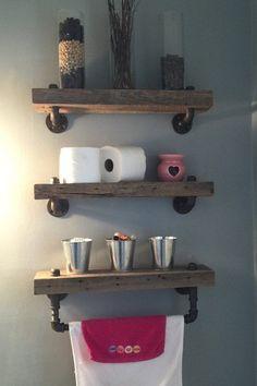 4 Auspicious Cool Tricks: White Floating Shelves With Tv floating shelves bathroom how to make.White Floating Shelves With Tv floating shelf nursery bedrooms.Floating Shelves Bathroom How To Make. Reclaimed Wood Floating Shelves, Floating Shelf Decor, Floating Shelves Bathroom, Rustic Floating Shelves, Reclaimed Barn Wood, Glass Shelves, Floating Bookshelves, Barn Wood Bathroom, Bathroom Wood Shelves