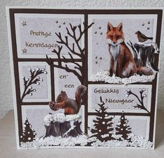 Fall Cards, Winter Cards, Christmas Cards, Stamping Up Cards, Marianne Design, Thanksgiving Cards, Card Patterns, Animal Cards, Card Sketches