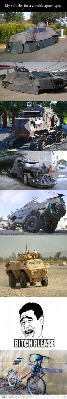Zombie Apocalypse Vehicles