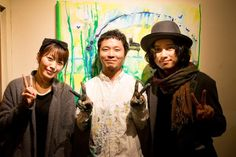 先週の代田橋CHUBBYのイベントからもう1週間たったんだ。写真は坂本美雨さんと渡辺シュンスケさんとイベントが終わってから記念撮影。ありがとうございました。 Shit Happens