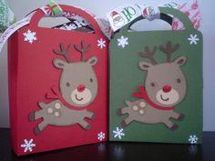 Rudolph Treat Bag/Ornament/Gift Card Holder - Scrapbook.com