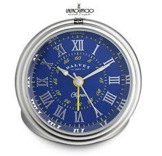 OROLOGIO-SVEGLIA-3275-DALVEY-CLIPPER-CLOCK-CASSA-IN-ACCIAIO-60-MM-SC10
