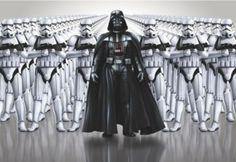 Sind Sie der Macht verfallen? Dann verzieren Sie Ihr Zuhause mit der Star Wars Imperial Force Fototapete von Komar. In diesem Motiv steckt die geballte Power Darth Vaders.