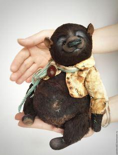 Old Teddy Bears, Teddy Bear Toys, Vintage Teddy Bears, Cute Stuffed Animals, Love Bear, Soft Dolls, Soft Sculpture, Felt Animals, Handmade Toys