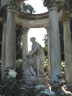 Statue at the Arboretum Huntington Library Pasadena California