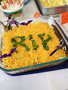 Halloween party food and snack ideas.