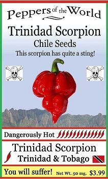 We specialize in New Mexican Chile Peppers and bring you the hottest pepper seeds available (and gmo-free! Pepper Scale, Hot Pepper Recipes, Bhut Jolokia, Ghost Peppers, Pepper Plants, Pepper Seeds, Cooking Hacks, Gardening Vegetables, Garden Seeds