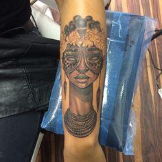 25 Rare African Tattoos