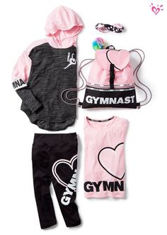 Fierce activewear she'll totally flip for!