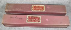 2 Rolls Vintage St Clair Gift Wrap Baby Shower Wrapping Paper In Dispenser Boxes #StClair #Babyshower