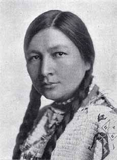 "GERTRUDE BONNIN (Zitkala-Sha or ""Red Bird"") - February 22, 1876:  She was a writer and a Sioux Indian activist.  She founded the National Council of American Indians in 1926."