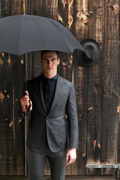 grey suit #gentlemen #gent #men #style #fall