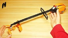 How to Build a Lego Technic Cordless Brush Cutter (MOC)