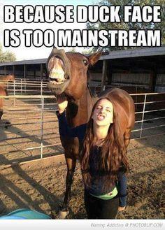 Let's Do Horse Face