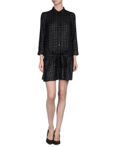 ARMANI JEANS - Short dress Armani Jeans, Jean Shorts, Short Dresses, Check, Fashion, Denim Shorts, Short Gowns, Moda, Fashion Styles