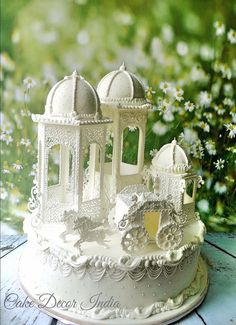 Fairytale in Royal Icing Cake by Prachi Dhabal Deb of Cake Decor India