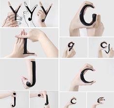 Astonishing handmade type by Tien-Min Liao