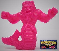 Monster In My Pocket - Series 1 - 10 Triton - Neon Magenta NM - Premium - MEG My Pocket, Magenta, Dinosaur Stuffed Animal, Neon, Toys, Animals, Ebay, Activity Toys, Animaux