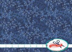 DARK BLUE Fabric by the Yard Fat Quarter Blue FLORAL Fabric Tonal Fabric Quilting Fabric 100% Cotton Fabric Apparel Fabric Yardage w4-16 by FabricBrat on Etsy https://www.etsy.com/listing/228734905/dark-blue-fabric-by-the-yard-fat-quarter