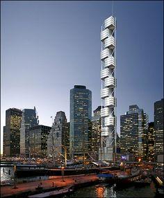 Santiago Calatrava New York #SantiagoCalatravaArchitecture Pinned by www.modlar.com