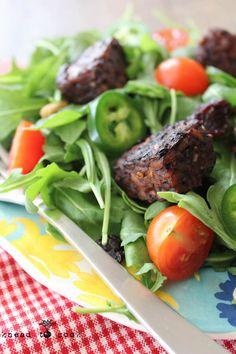 Balsamic Dijon Tempeh. Vegan. #vegan #restaurant #reviews