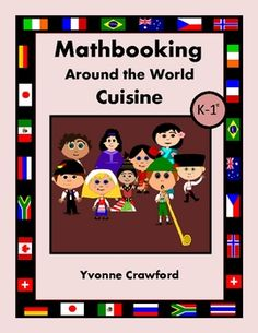 For kindergarten and 1st grade - 30 math journal prompts with a world cuisine theme.  14 different countries are featured with lots of great information and discussion questions.