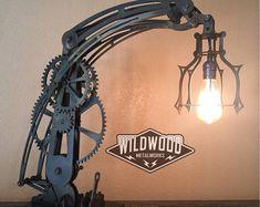 Industrial Steampunk Desk Lamp