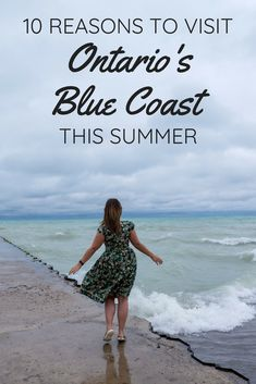 10 reasons to visit Ontario's Blue Coast this summer. The shores of Lake Huron - Grand Bend, Sarnia, and more. Alberta Canada, Tumblr Ocean, Ontario Beaches, Vancouver, Travel Photography Tumblr, Canadian Travel, Canadian Rockies, Canada Destinations, Montreal Canada