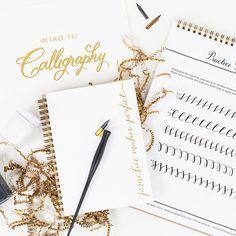 Learn calligraphy starter kit
