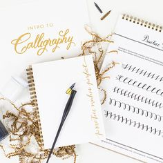 Laura Hooper Calligraphy Starter Kit. Dying to go to a class of hers!