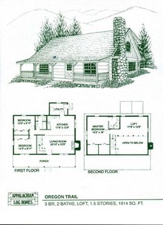 Oregon Trail - Appalachian Log & Timber Homes - Rustic Design for Contemporary Living.