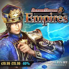 Sila Games summer sale #gamedeals DYNASTY WARRIORS 8 Empires -60% Off 19.99 15.99 http://ift.tt/2ezIBd8 #koeitecmo #pcgaming #pcgamer #gaming #siladeals